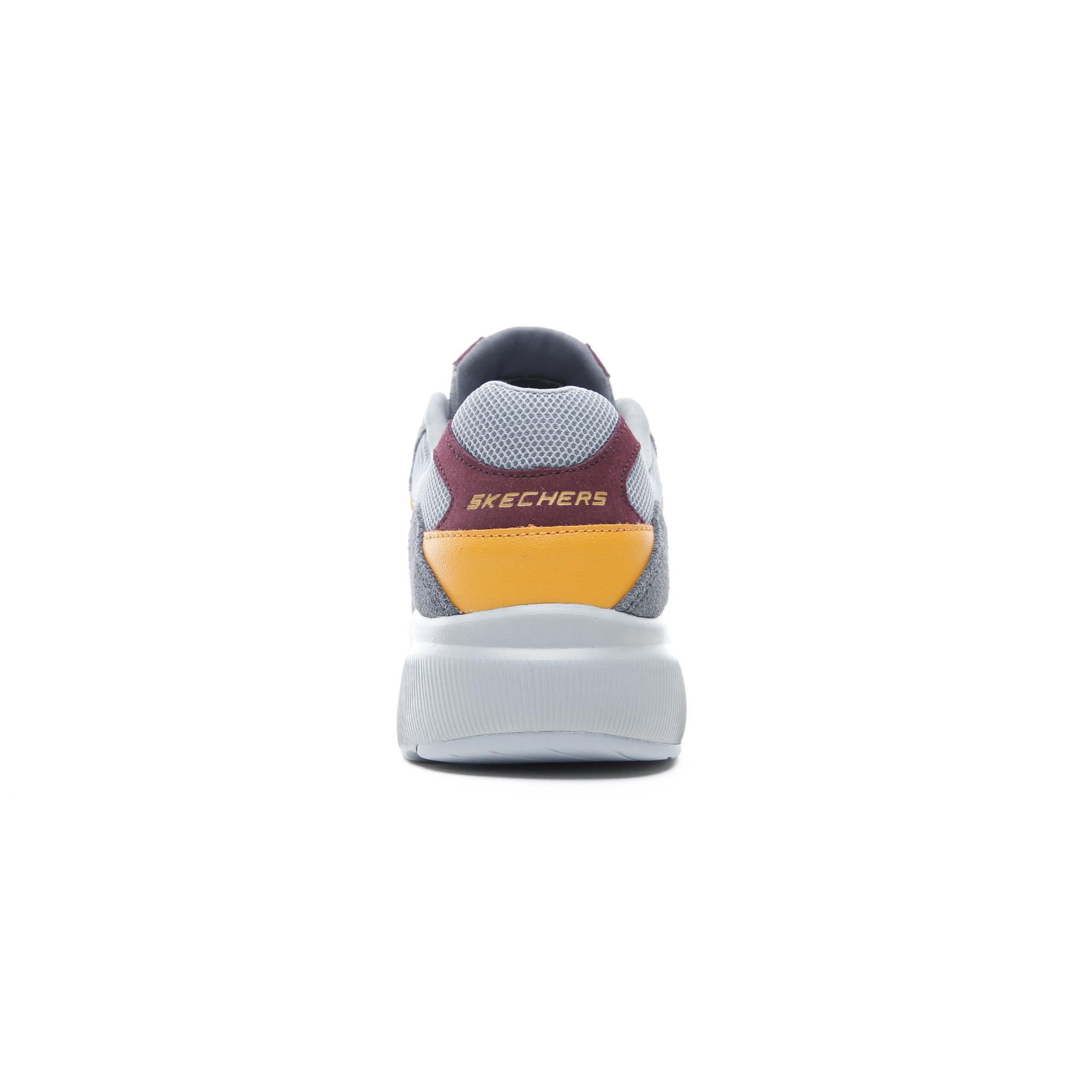 Skechers Meridian - Ostwall Erkek Gri Spor Ayakkabı