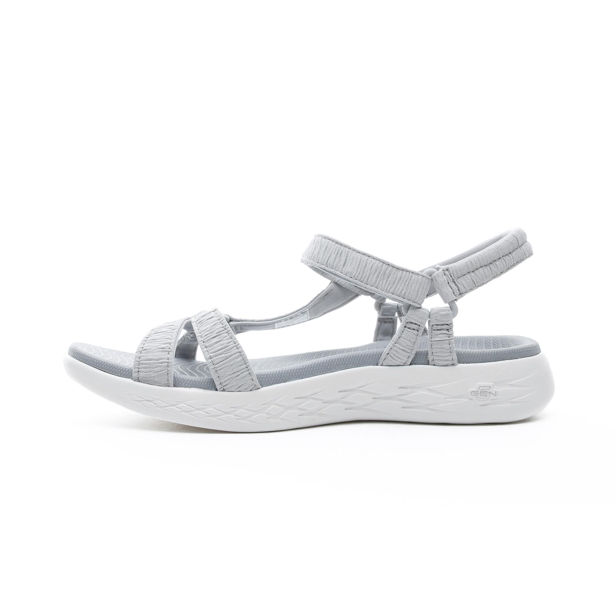 Skechers On the Go 600 Kadın Gri Sandalet