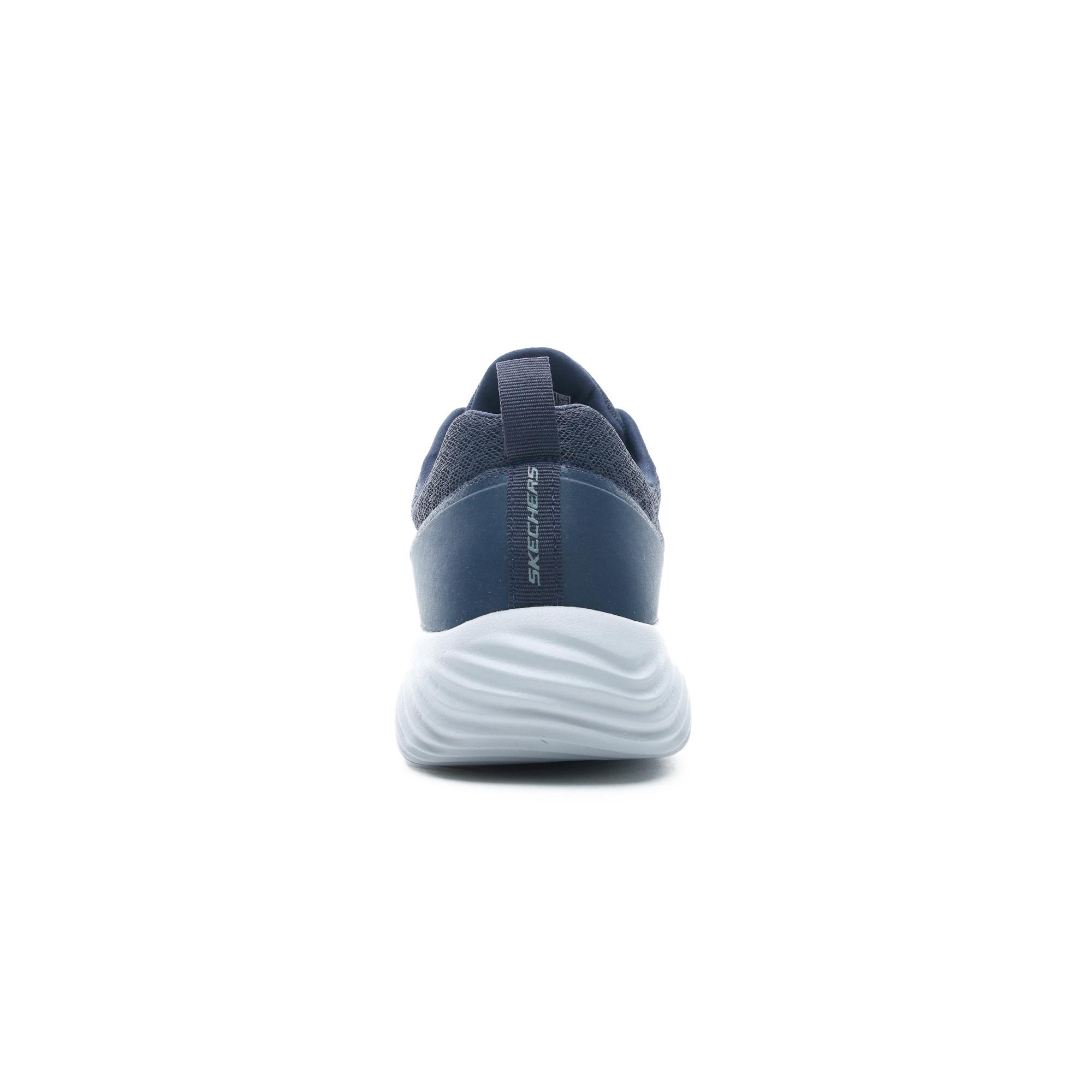Skechers Bounder Erkek Lacivert Spor Ayakkabı
