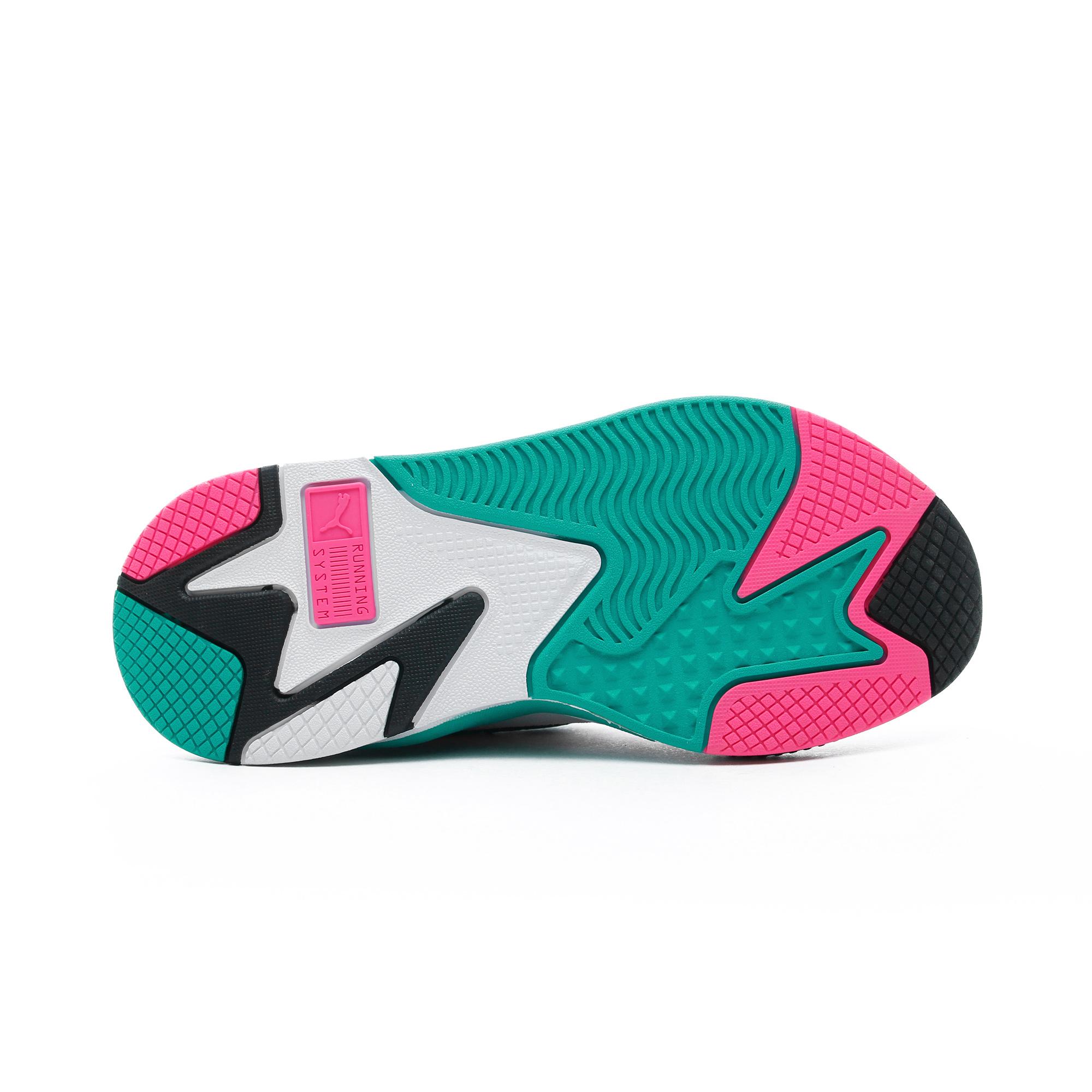 Puma RS-X³ Plastic Kadın Yeşil-Pembe Spor Ayakkabı