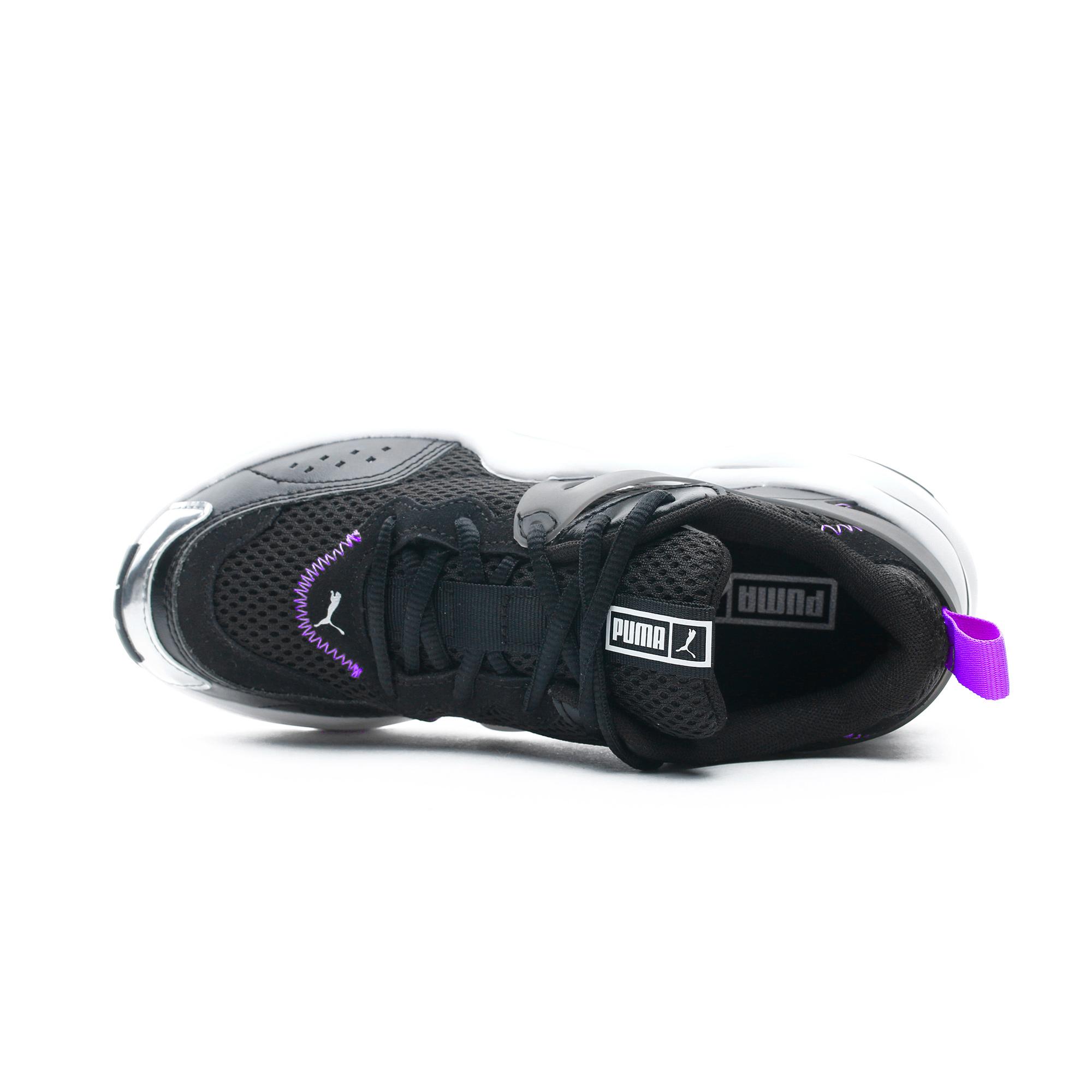 Puma Rise Contrast Kadın Siyah Spor Ayakkabı