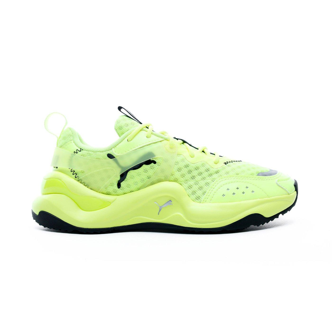 Puma Rise Glow Kadın Sarı Spor Ayakkabı