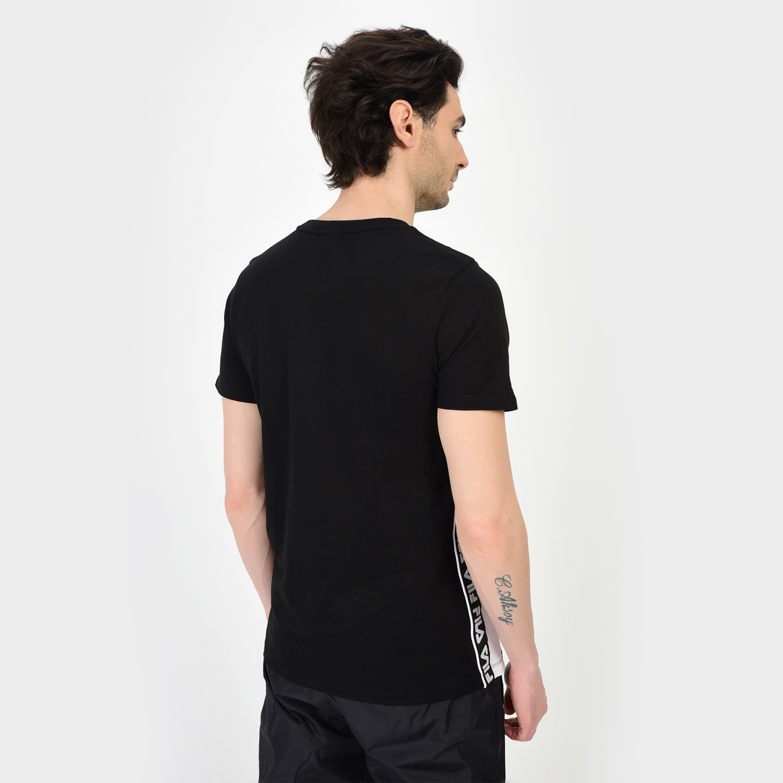 Fila Tobal Erkek Siyah T-Shirt