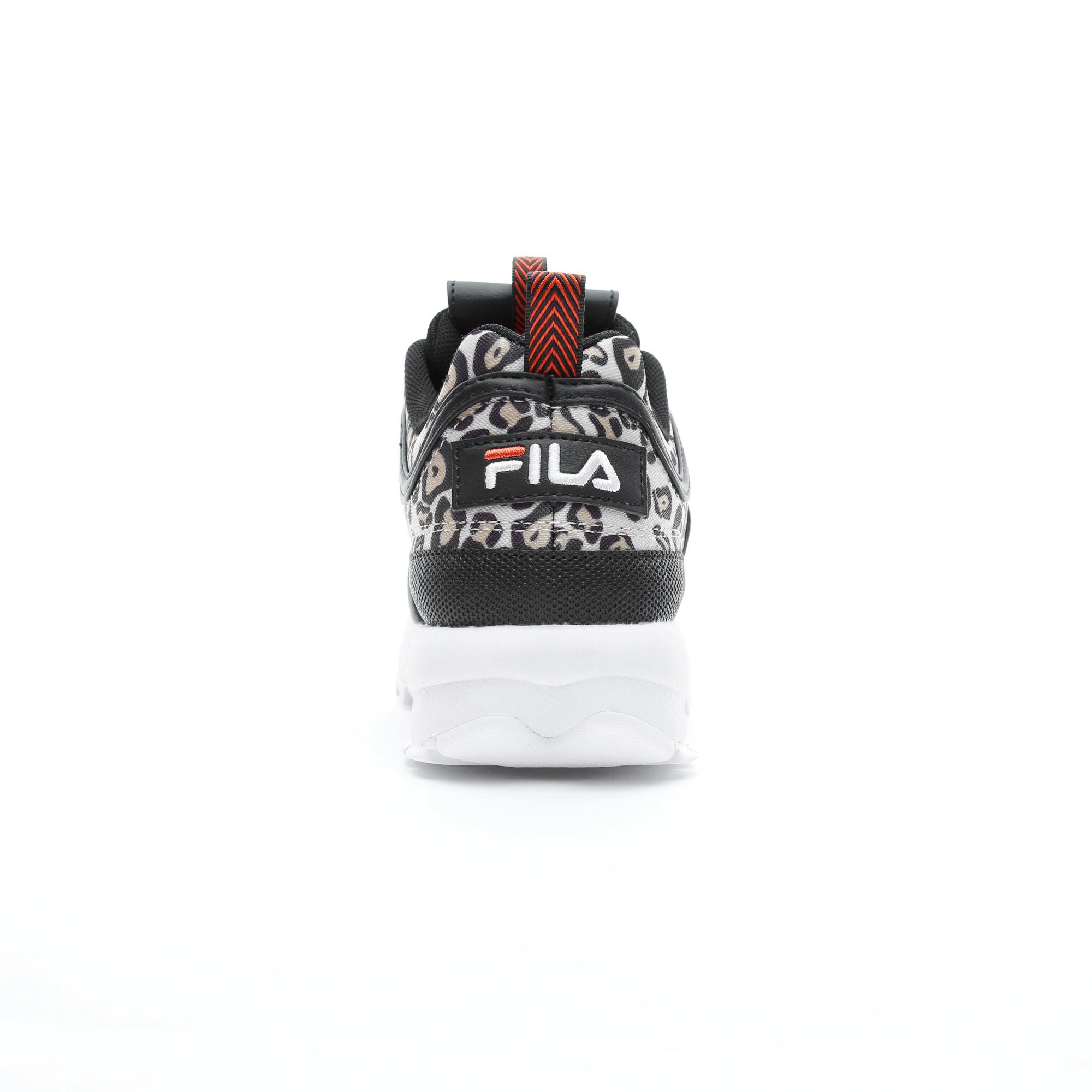 Fila Disruptor Animal Kadın Siyah Spor Ayakkabı