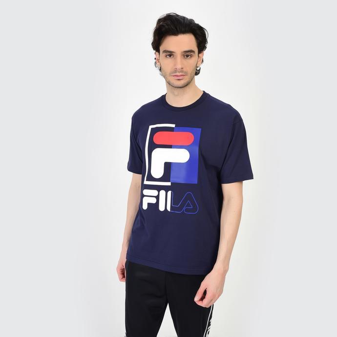 Fila Saku Erkek Lacivert T-Shirt