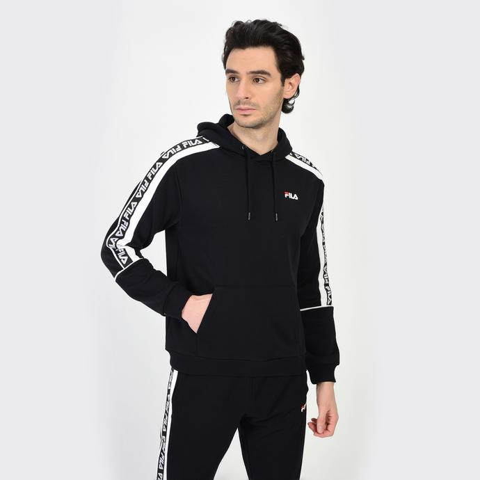 Fila Tefo Erkek Siyah Sweatshirt