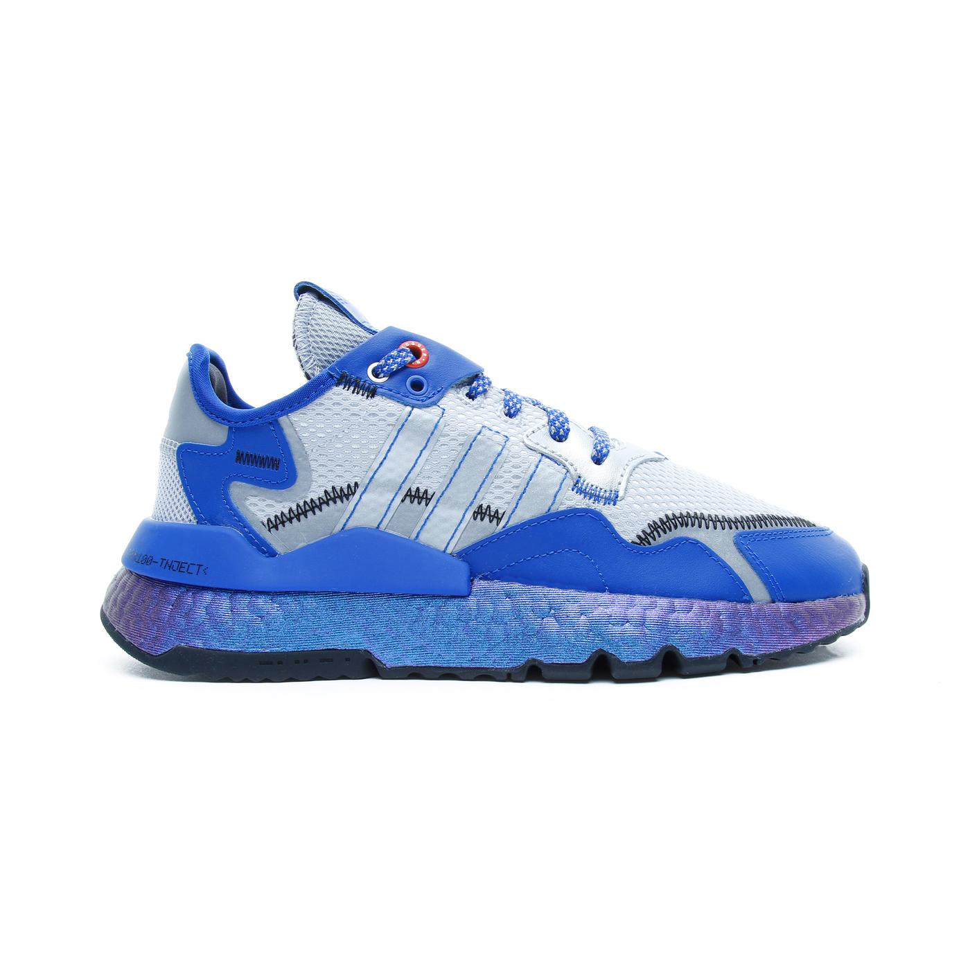 adidas Nite Jogger Kadın Mavi Spor Ayakkabı