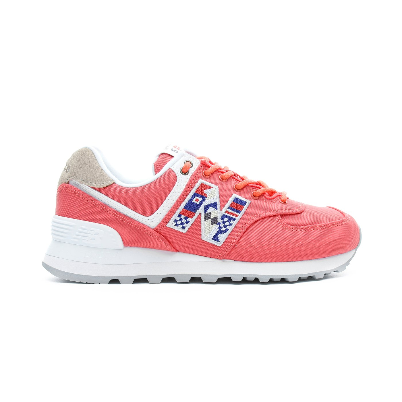 New Balance 574 Kadın Kırmızı Spor Ayakkabı