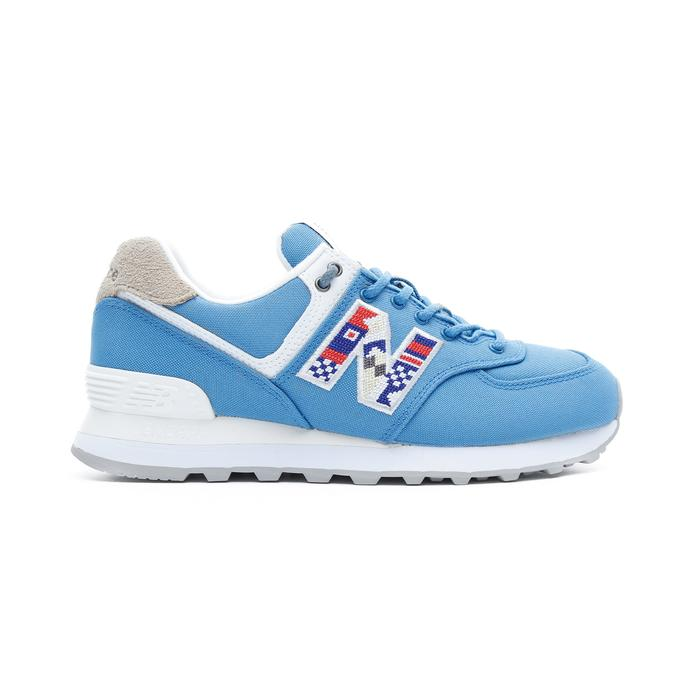 New Balance 574 Kadın Mavi Spor Ayakkabı
