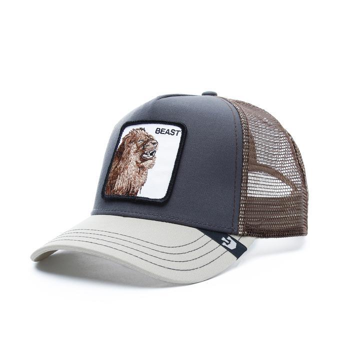 Goorin Bros Beast Unisex Gri Şapka