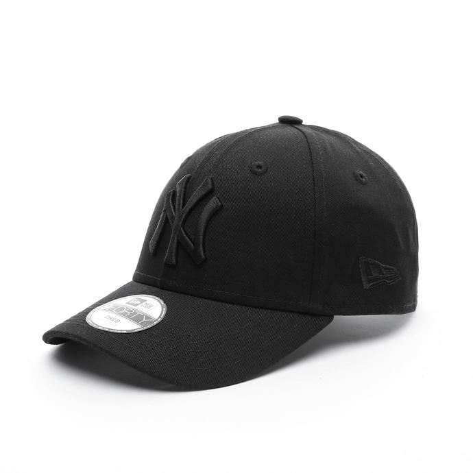 New Era New York Yankees Essential 9FORTY Çocuk Siyah Şapka