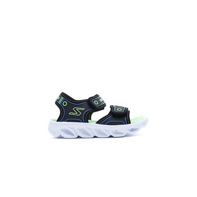 Skechers Hypno Splash Çocuk Siyah-Yeşil Sandalet