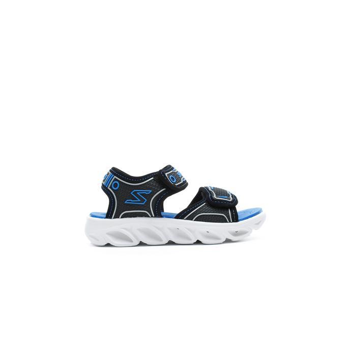 Skechers Hypno Splash Çocuk Siyah-Mavi Sandalet