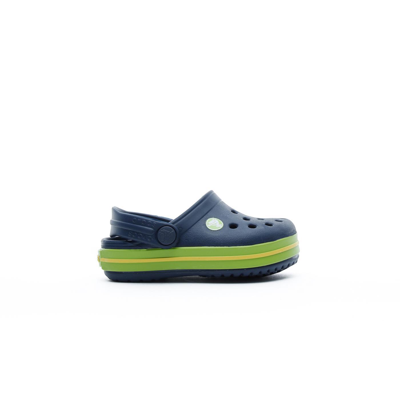 Crocs Crocband Clog K Çocuk Lacivert-Yeşil Terlik