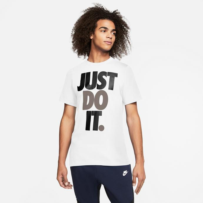 Nike JDI Erkek Beyaz T-Shirt
