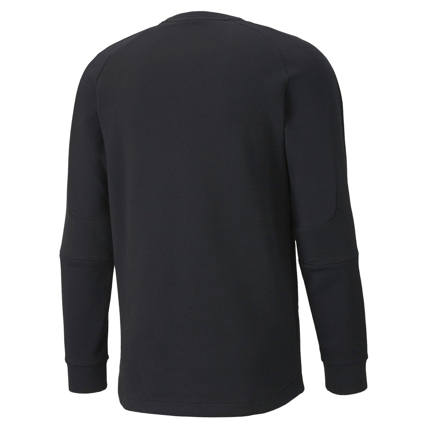 Evostripe Erkek Siyah Sweatshirt
