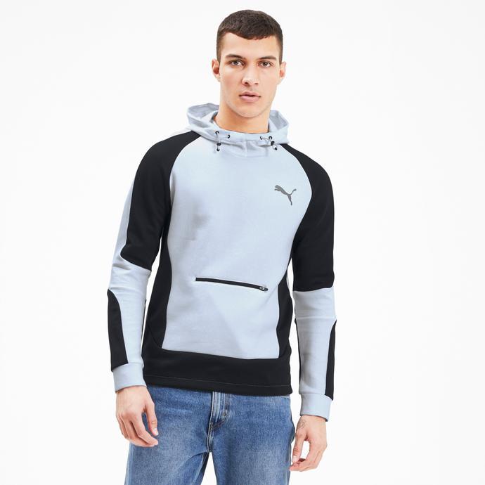 Puma Evostripe Erkek Beyaz Sweatshirt
