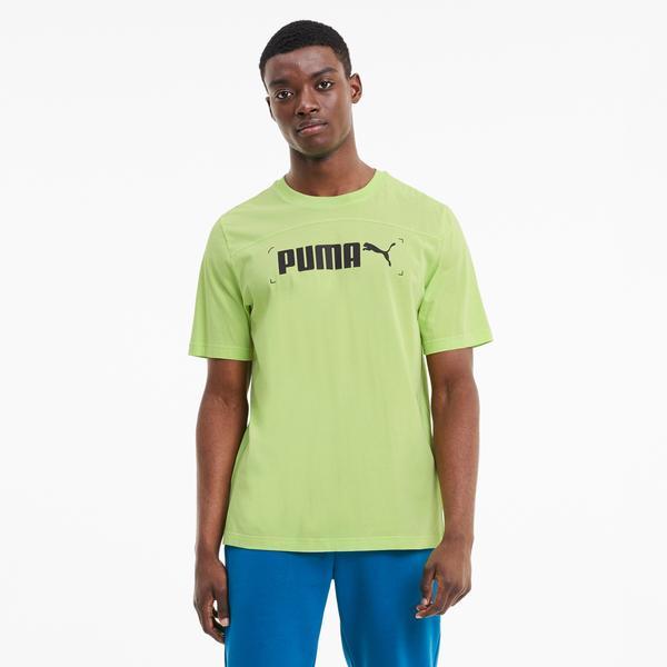 Puma Nu-Tility Erkek Yeşil T-Shirt