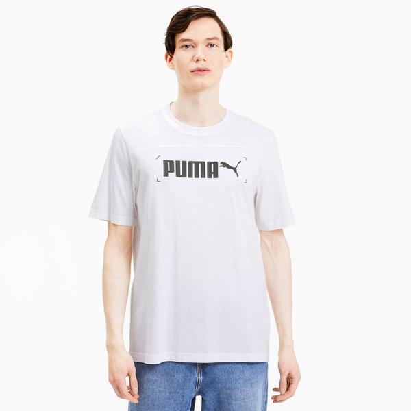 Puma Nu-Tility Erkek Beyaz T-Shirt