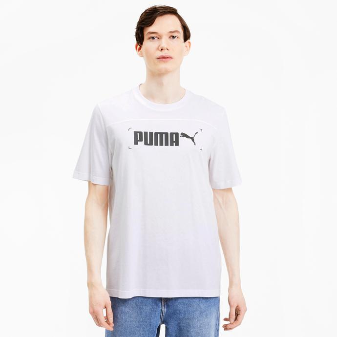 Nu-Tility Erkek Beyaz T-Shirt