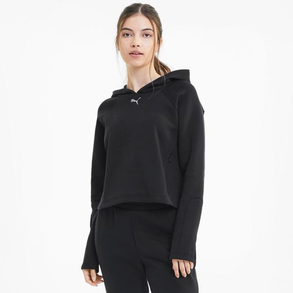 Puma Evostripe Kadın Siyah Sweatshirt