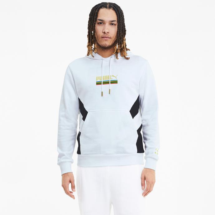 Puma TFS Worldhood Erkek Beyaz Sweatshirt