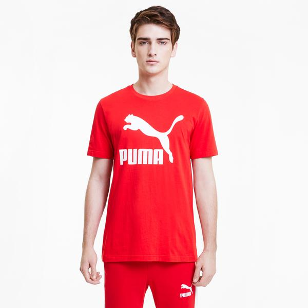 Puma Classics Erkek Kırmızı T-Shirt