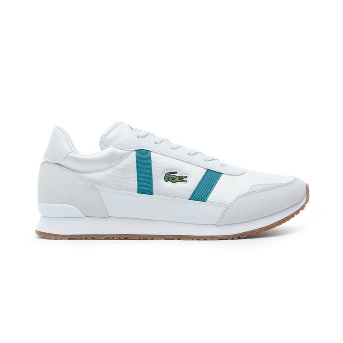 Lacoste Partner Erkek Beyaz - Gri Spor Ayakkabı