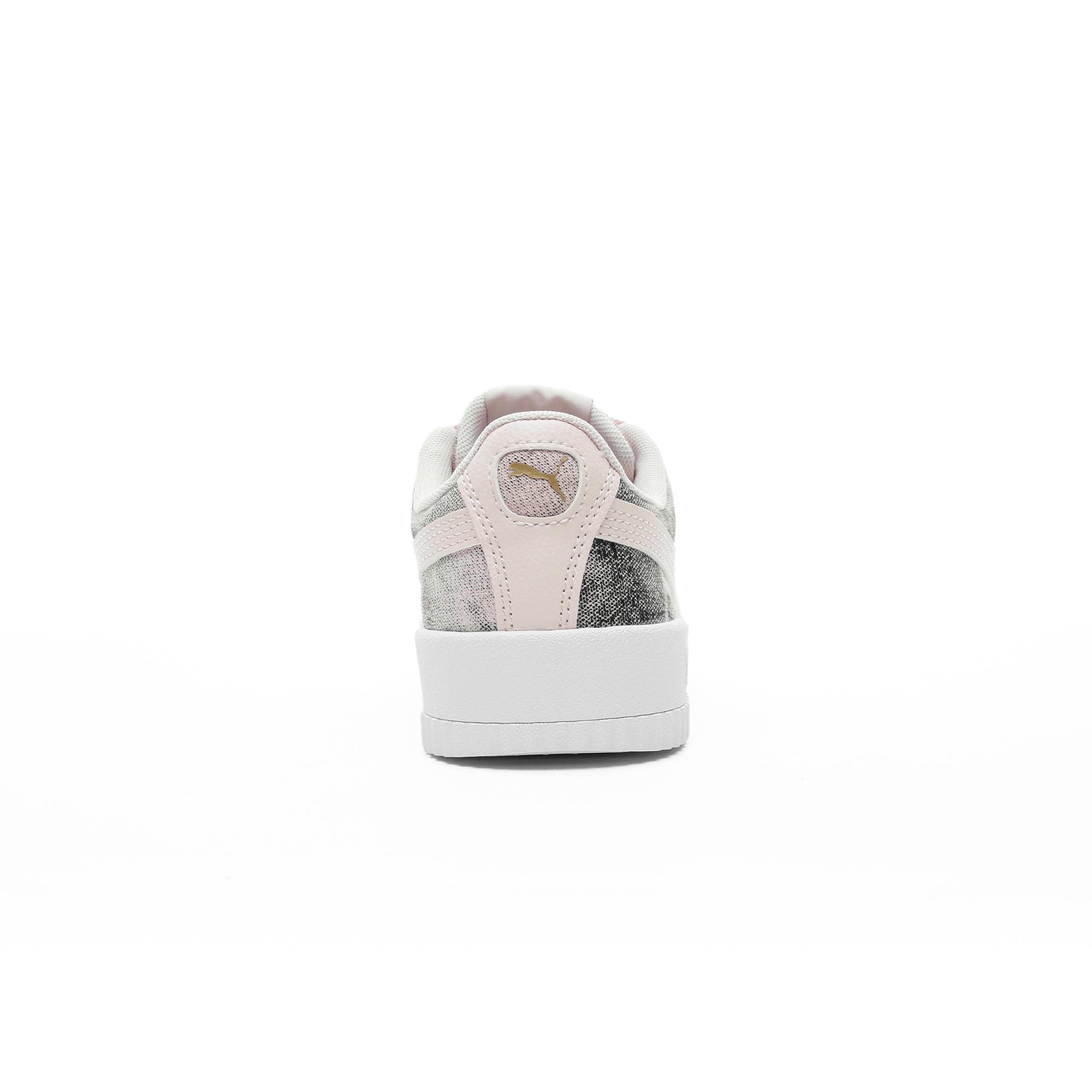 Puma Carina Tie-Dye Kadın Pembe Spor Ayakkabı