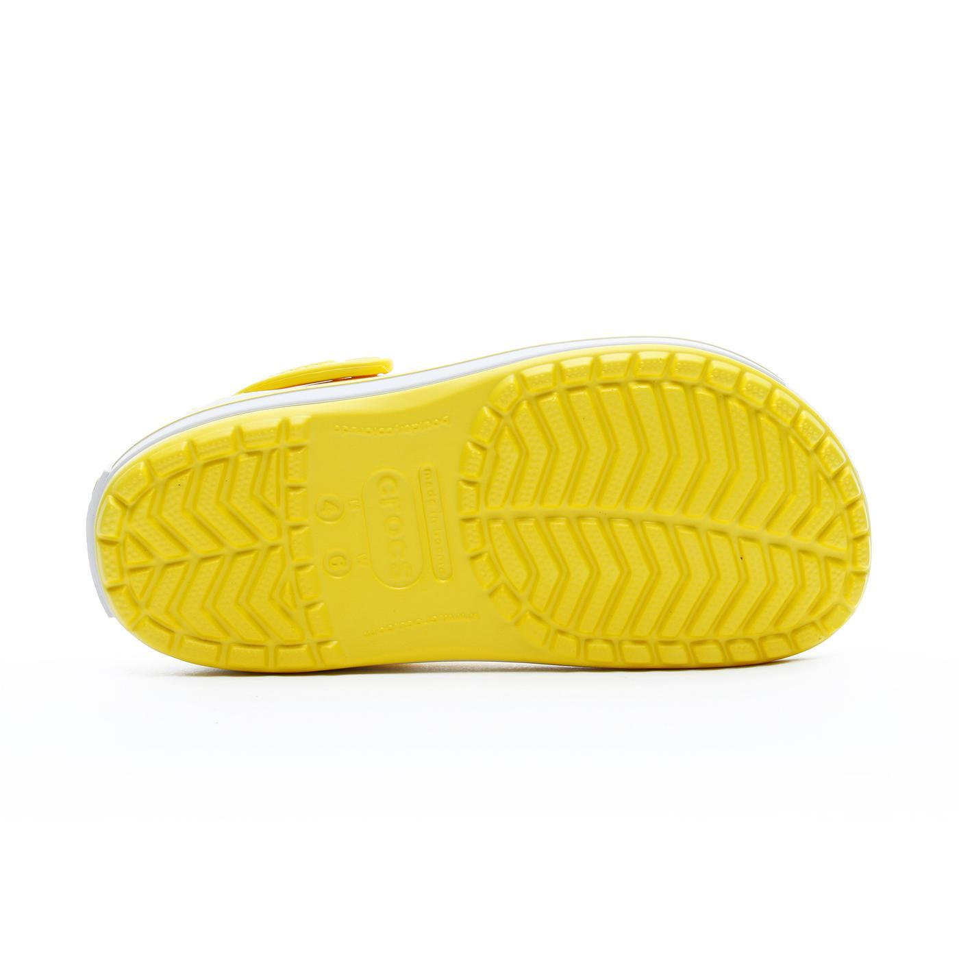 Crocs Crocband Unisex Sarı Terlik