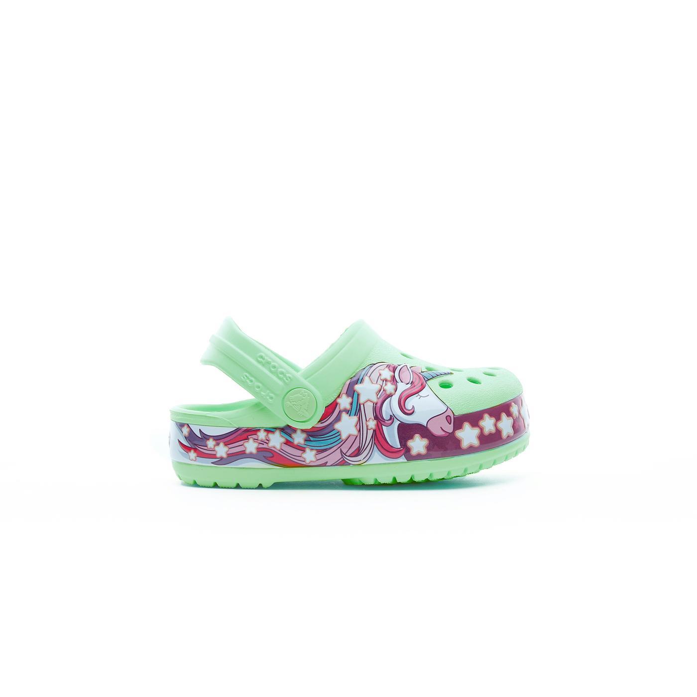 Crocs Crocs FunLab Unicorn Band Cg K Çocuk Yeşil Terlik