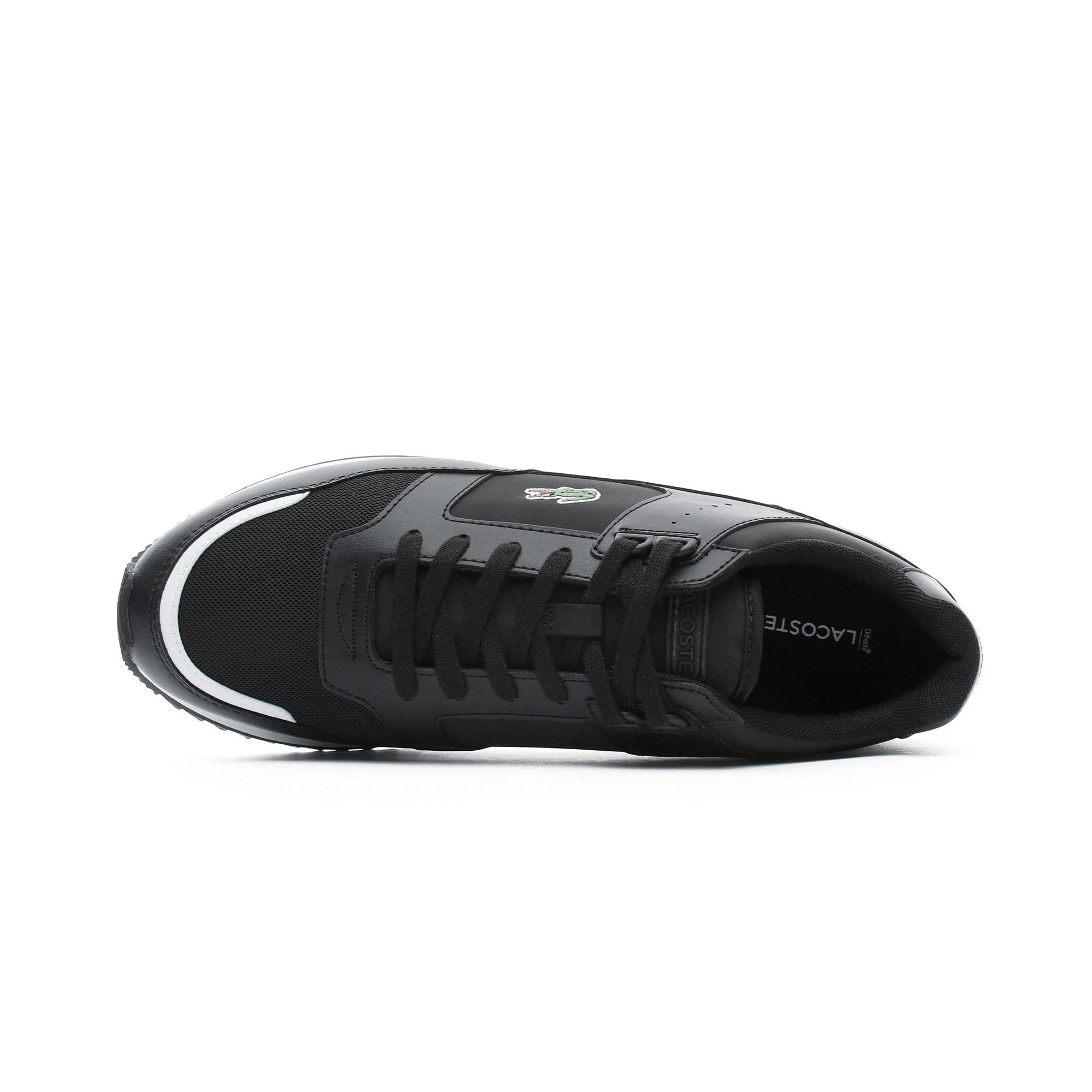 Partner Piste Erkek Siyah Spor Ayakkabı