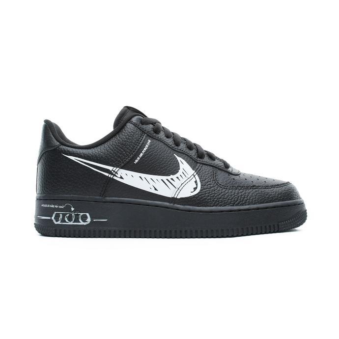 Nike Air Force 1 LV8 Utility Erkek Siyah Spor Ayakkabı