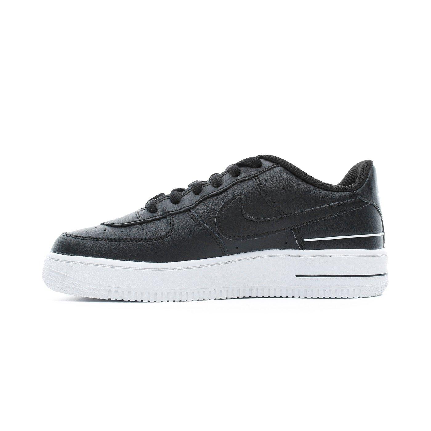 Nike Air Force 1 LV8 3 Kadın Siyah Spor Ayakkabı
