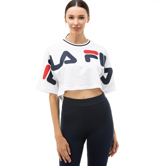 Fila Barr Kadın Beyaz T-Shirt