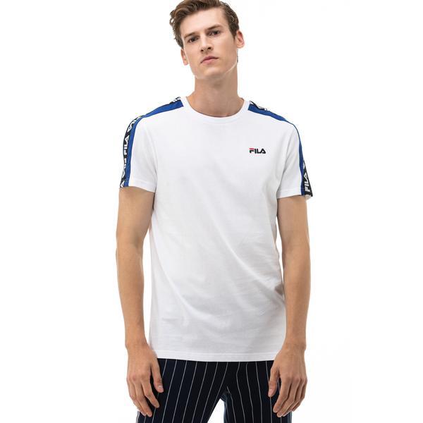 Fila Thanos Erkek Beyaz T-Shirt