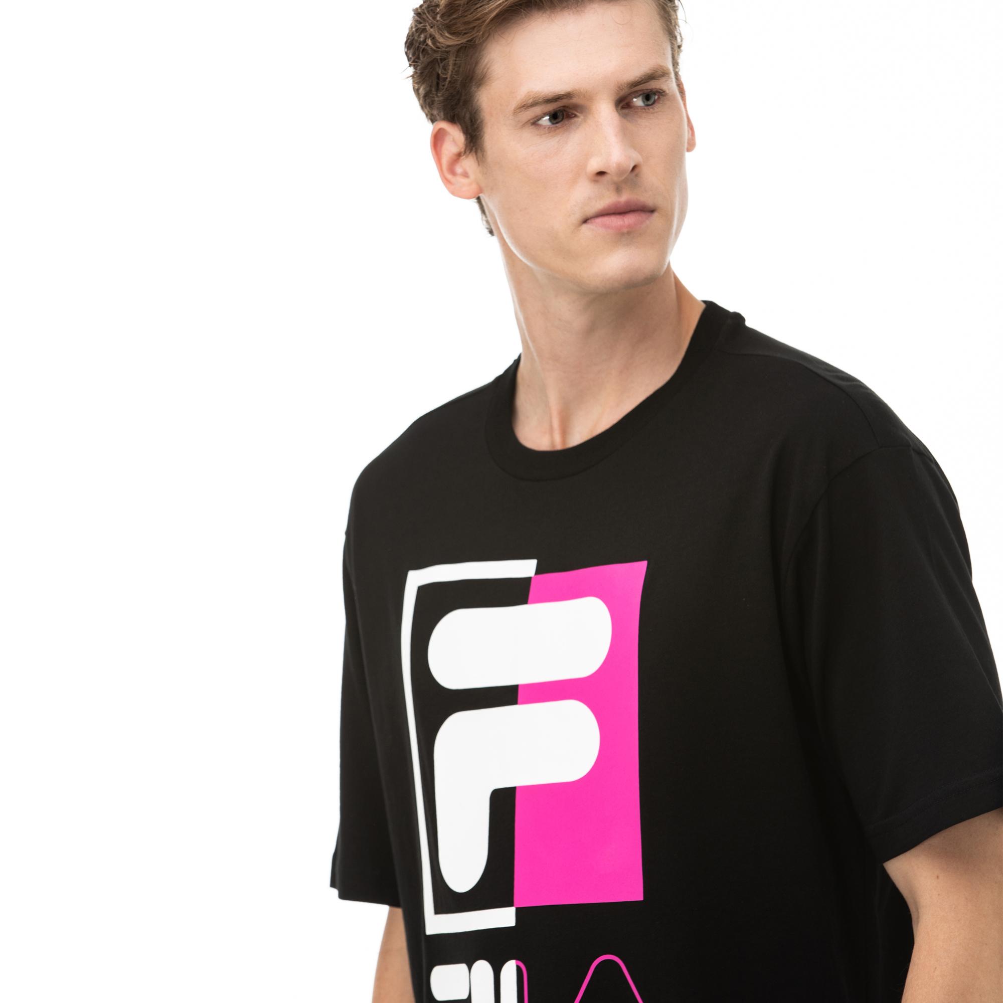 Fila Saku Erkek Siyah T-Shirt