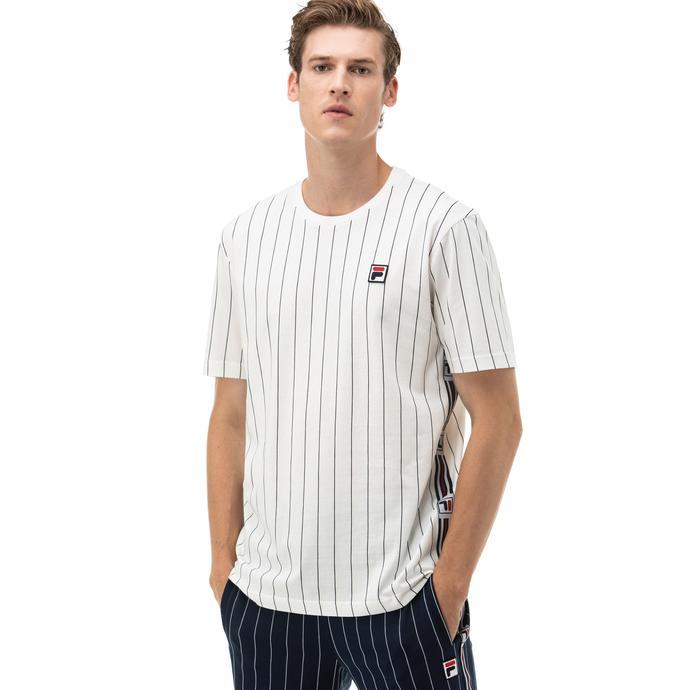 Fila Hades AOP Erkek Beyaz T-Shirt