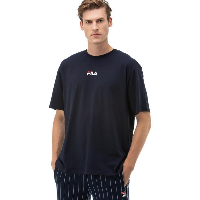 Fila Bender Erkek Lacivert T-Shirt
