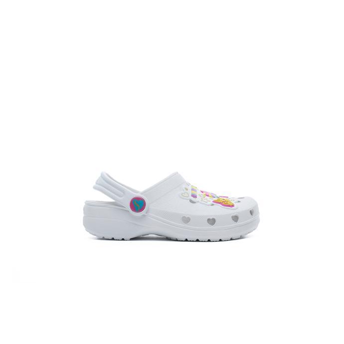 Skechers Heart Charmer Bebek Beyaz Terlik