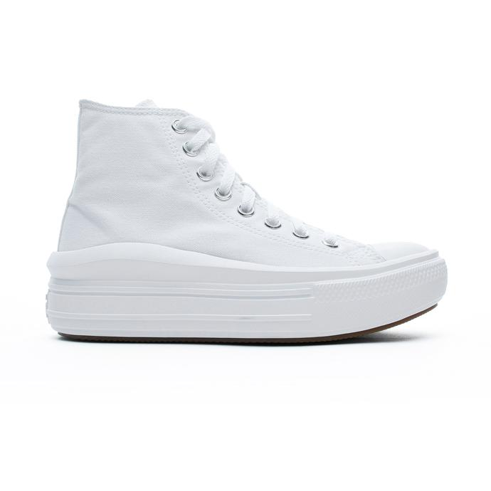 Chuck Taylor All Star Move Platform Hi Kadın Beyaz Sneaker