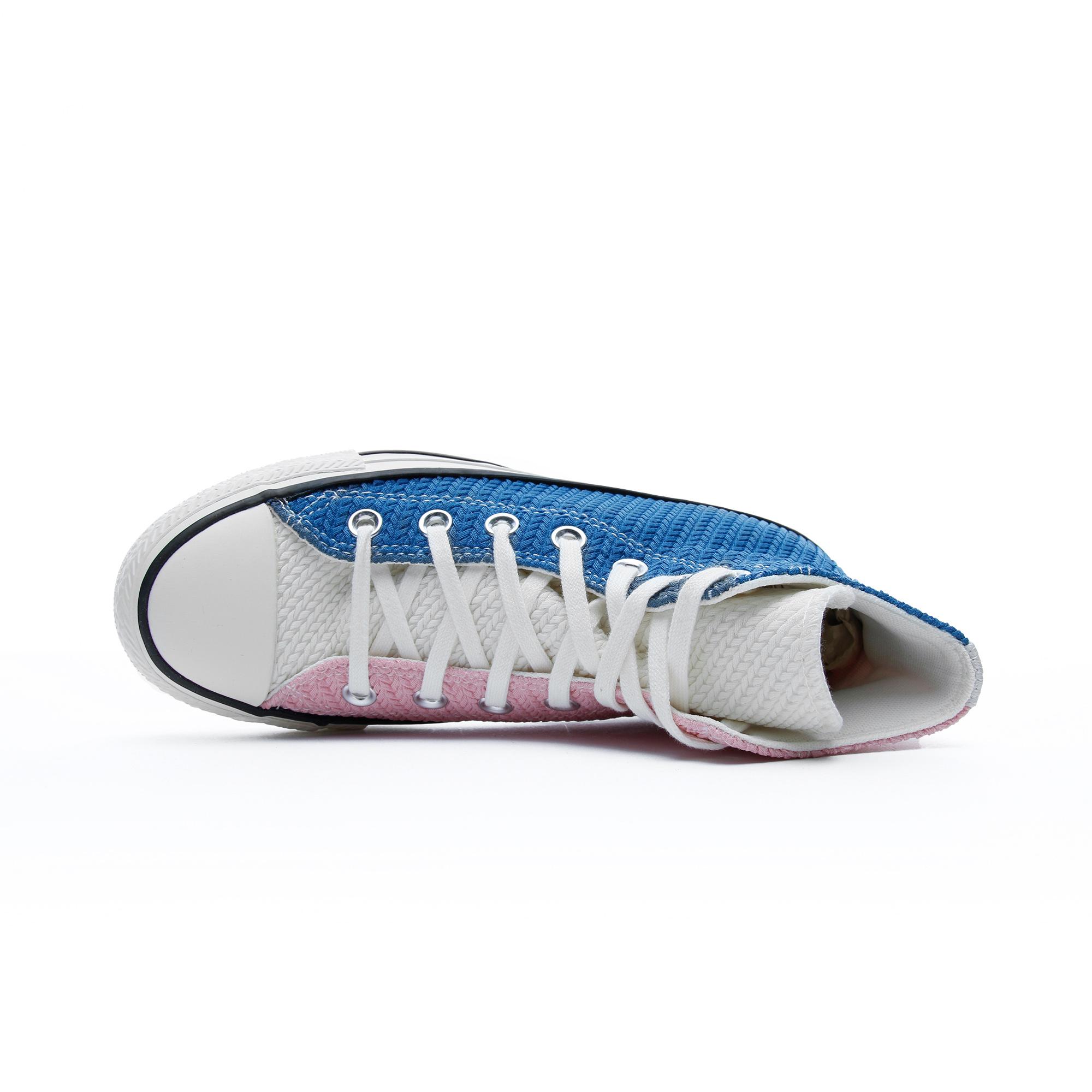 Converse Chuck Taylor All Star Hi Kadın Pembe- Mavi Sneaker