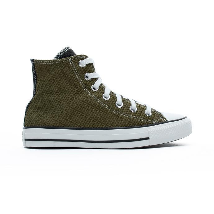 Chuck Taylor All Star Hi Kadın Sarı - Yeşil Sneaker