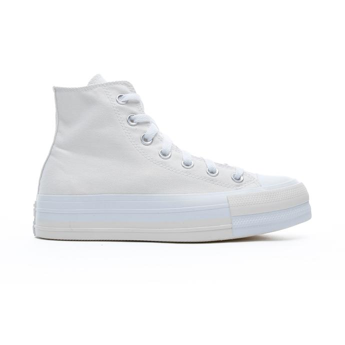 Converse Chuck Taylor All Star Double Stack Lift Hi Kadın Beyaz Sneaker