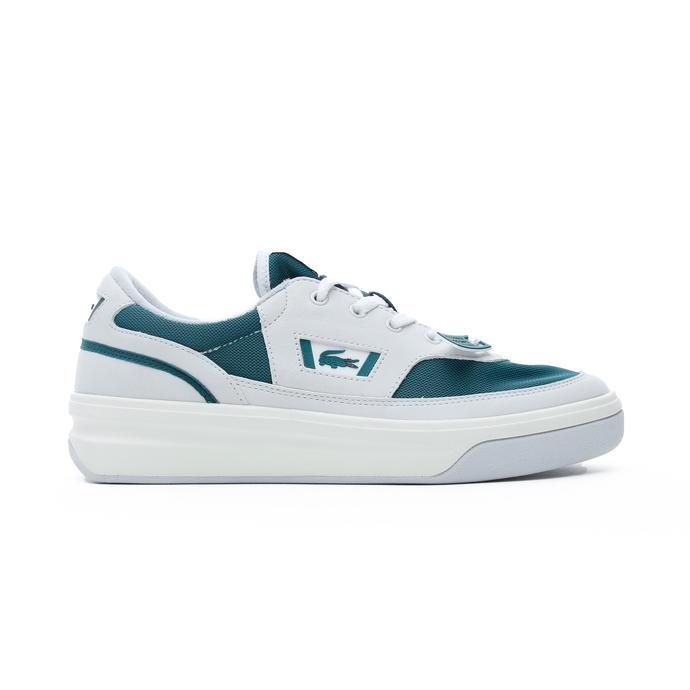 Lacoste G80 OG 120 1 SMA Erkek Beyaz - Koyu Yeşil Spor Ayakkabı