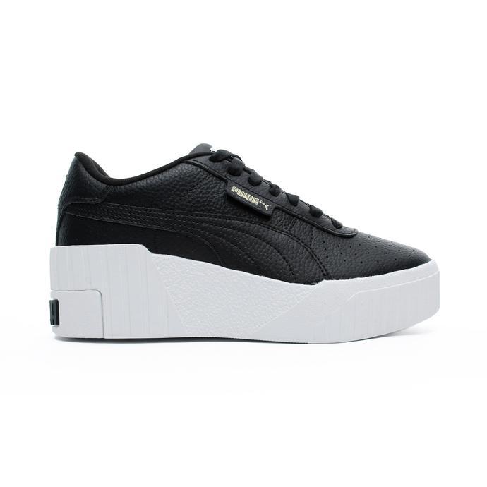 Puma Cali Wedge Kadın Siyah Spor Ayakkabı