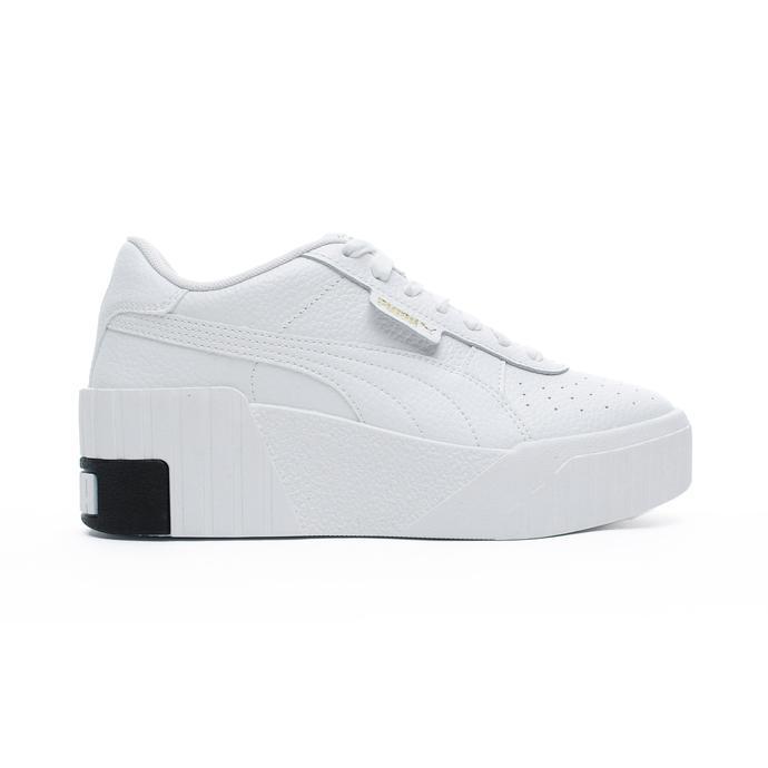 Cali Wedge Kadın Beyaz Spor Ayakkabı