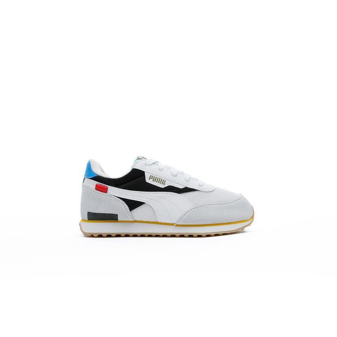 Puma Future Rider Worldhood Çocuk Beyaz Spor Ayakkabı