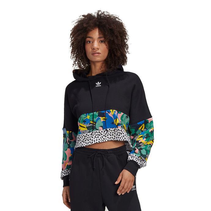 adidas HER Studio London Kapüşonlu Kadın Siyah Sweatshirt