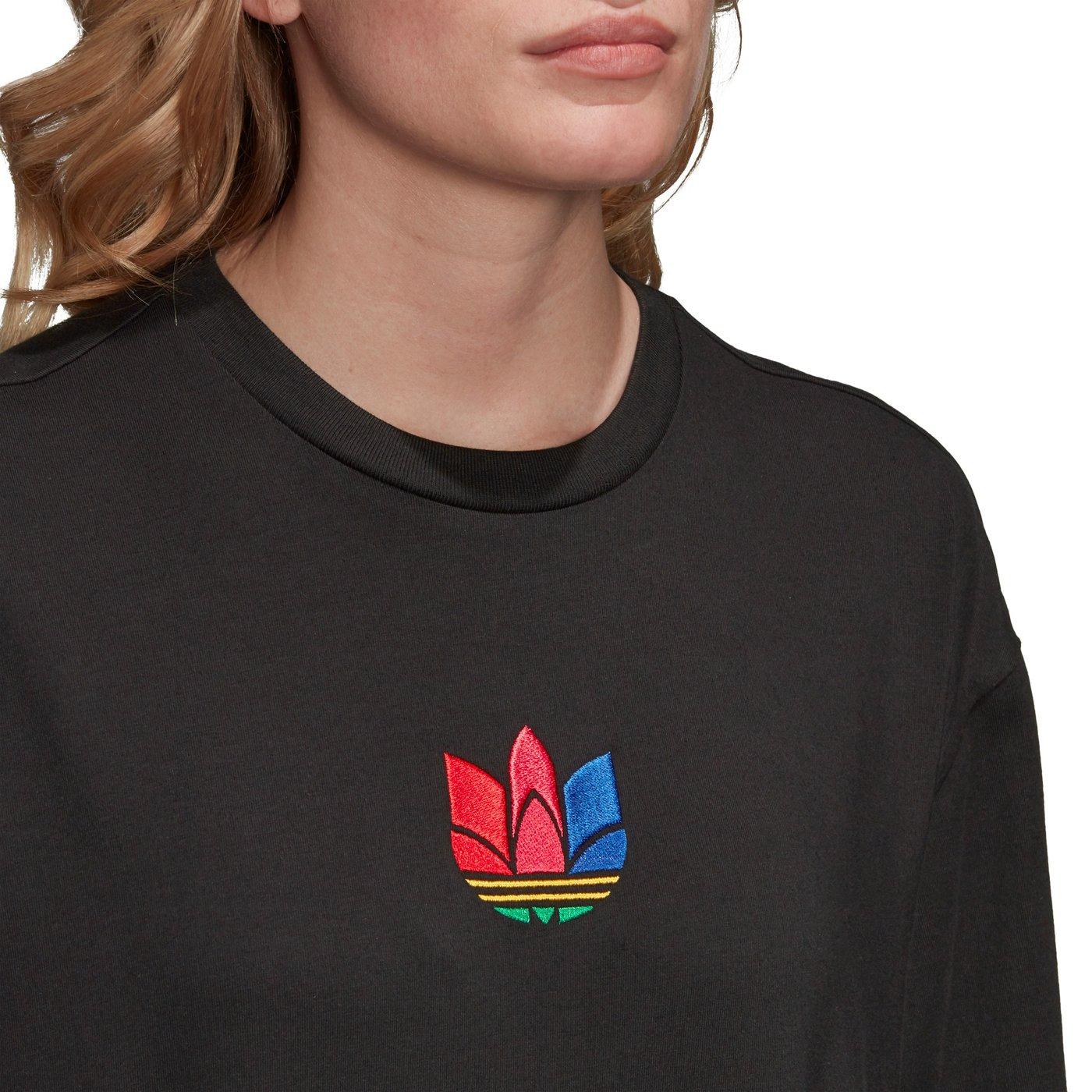 Adicolor Kadın Siyah T-Shirt